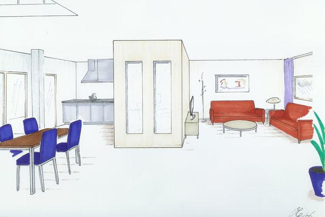 werkwijze interieurarchtect optimavorm ruimte ontwerp